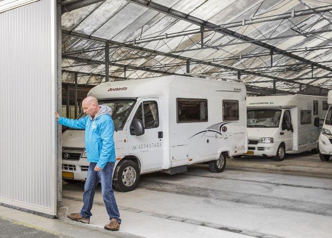 Caravanstalling Delft