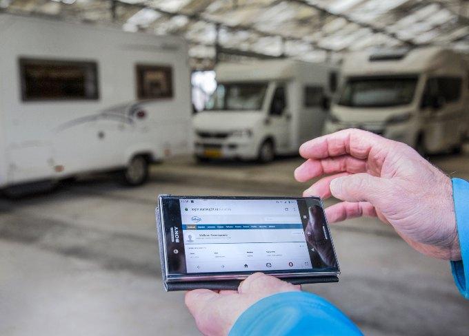 Caravanstalling Nieuwerkerk aan den IJssel