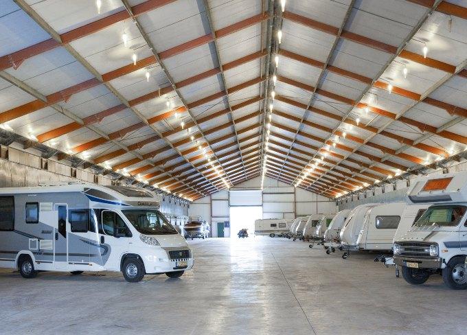 Caravanstalling Eindhoven